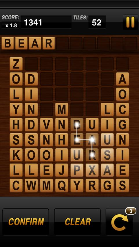 Word-Drop Mobile- screenshot