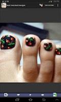 Screenshot of Best Toes Nail Designs