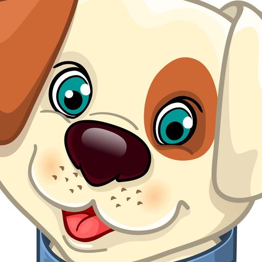 Dog Fun Sliding Puzzle 解謎 LOGO-阿達玩APP