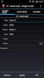 AudioTagger - Tag Music Screenshot 2