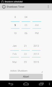 Shutdown Timer screenshot 1