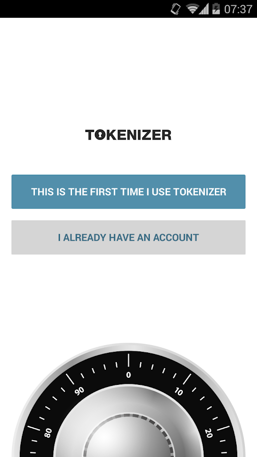 Tokenizer - screenshot