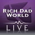 Rich Dad World Live icon