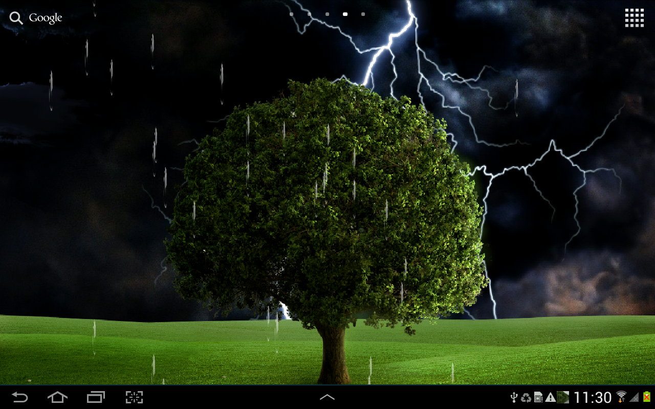 thunderstorm live wallpaper android apps on google play. Black Bedroom Furniture Sets. Home Design Ideas