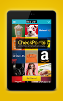 Screenshot of CheckPoints #1 Rewards App