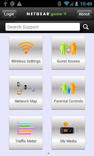 NETGEAR Genie- screenshot thumbnail