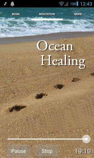 Let Go Let God Ocean