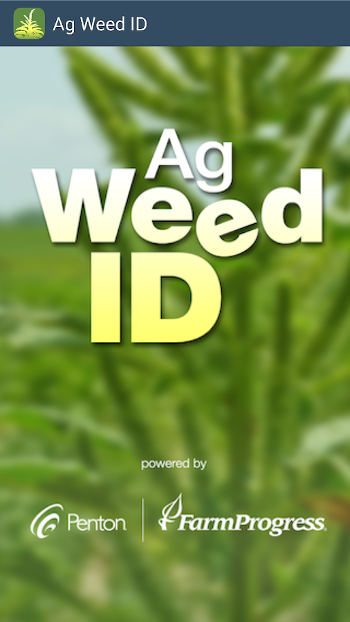 Ag Weed ID- screenshot