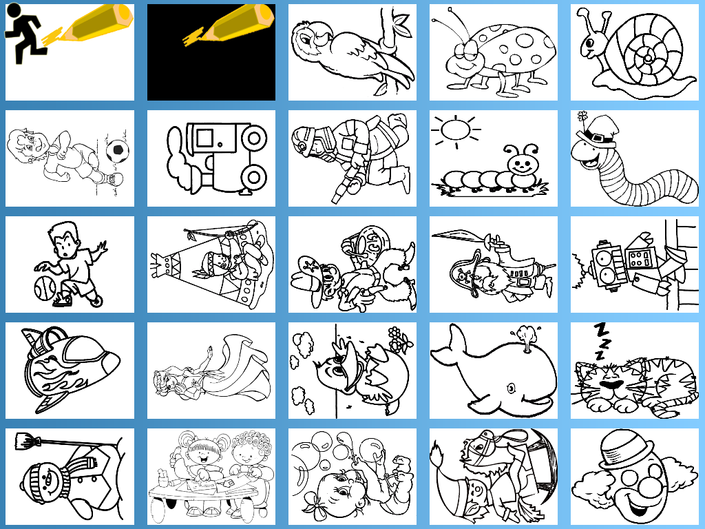 Kids Paint & Coloring Free- screenshot