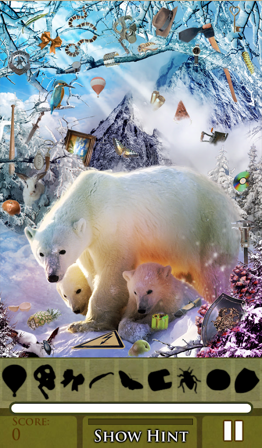 Hidden Object - Winterland - screenshot