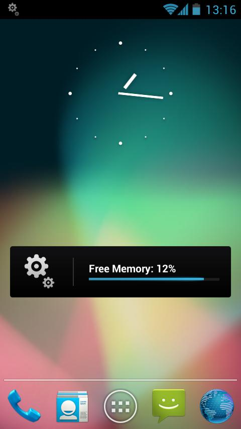 Simple Memory Cleaner Pro - screenshot