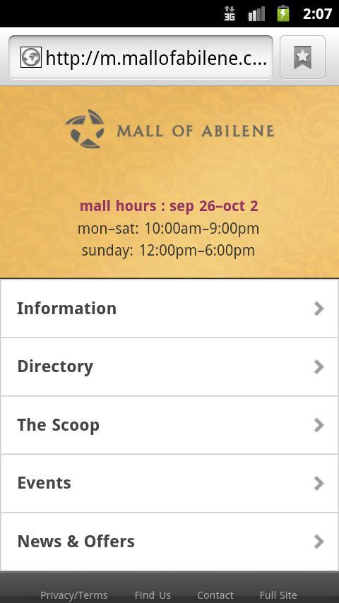 Mall of Abilene- screenshot
