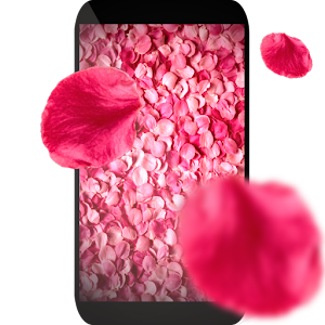 Petals 3D live wallpaper