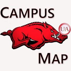 Univers of Arkansas Campus Map