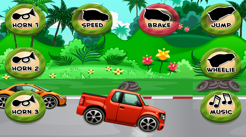 car game for toddlers kids screenshot