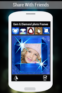Gem & Diamond Photo Frames screenshot 7