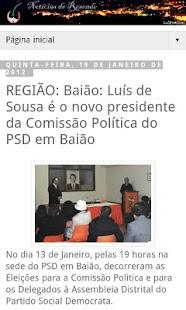 Notícias de Resende: News- screenshot thumbnail