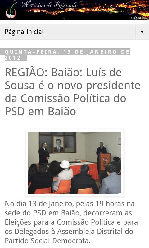 Notícias de Resende: News- screenshot