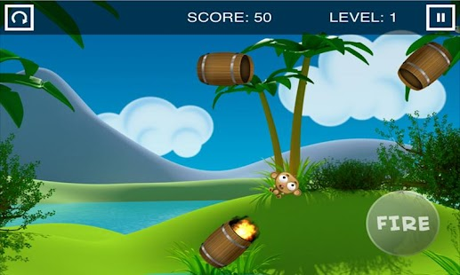 Monkey Barrel Game - screenshot thumbnail