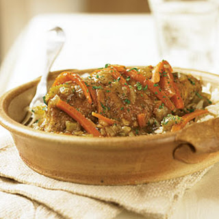 Old-Fashioned Chicken Fricassee