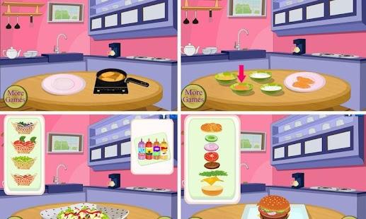 School Lunch - Food Maker- screenshot thumbnail