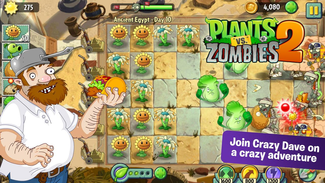 Plants vs zombies 2 v1 4 2 full apk indir
