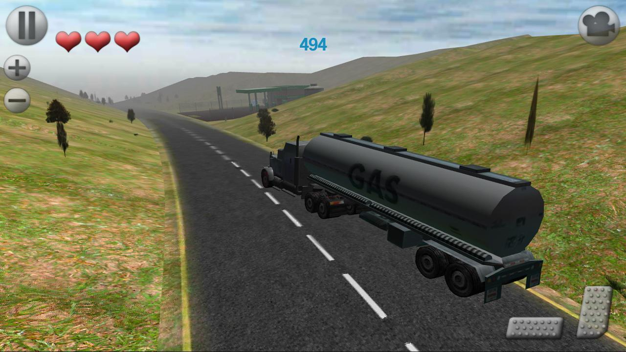 3D Truck Parking - screenshot