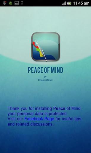 【免費工具App】Peace of Mind-APP點子