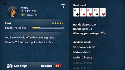 Appeak – The Free Poker Game Screenshot 5