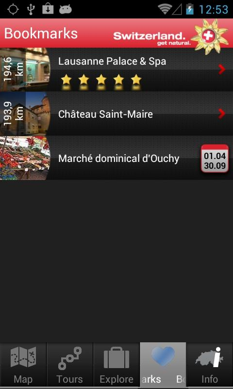 City Guide Lausanne - screenshot