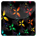 Neon Flowers HD Live Wallpaper icon