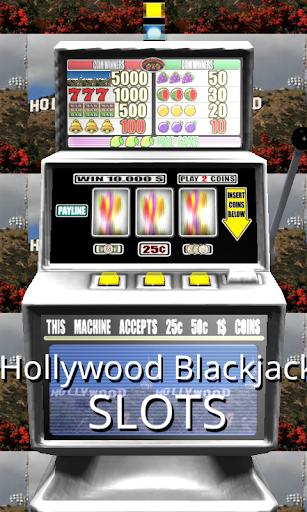 3D Hollywood Blackjack Slots