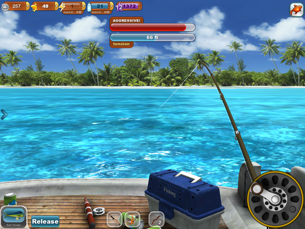 Fishing paradise 3d free android apps on google play for The fish game