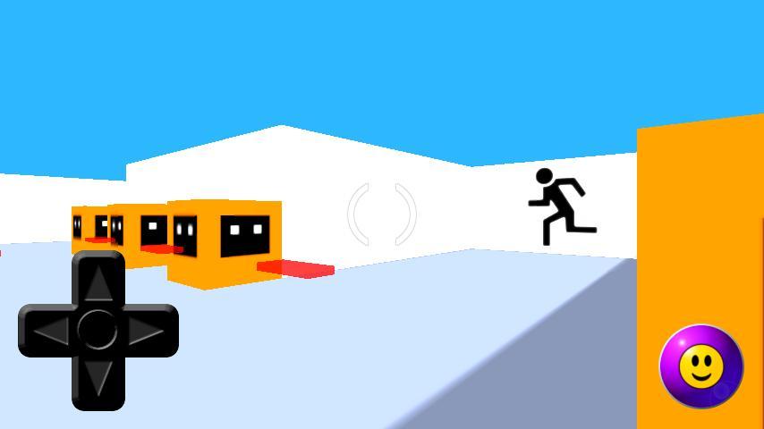 Parcour- screenshot