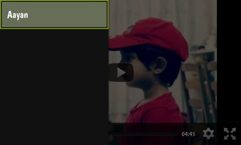 Youtube Cast Player - screenshot