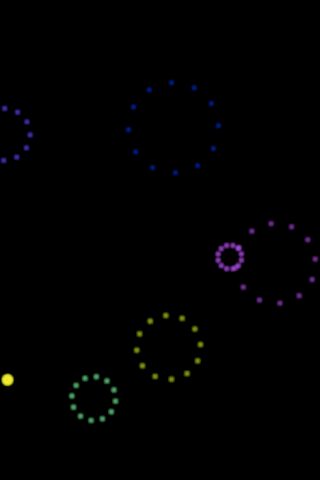 Dotted Circles Live Wallpaper - screenshot