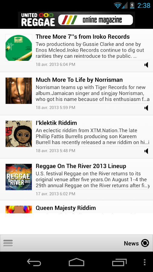 United Reggae - screenshot