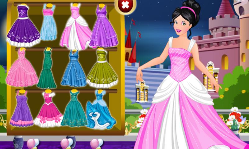 Cinderella Dressup Girl Game App Android Su Google Play