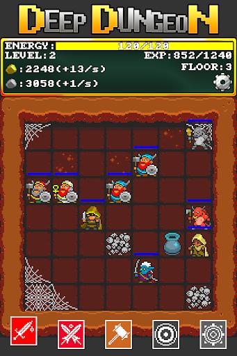 A Weird Deep Dungeon