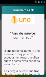Numerología- screenshot thumbnail