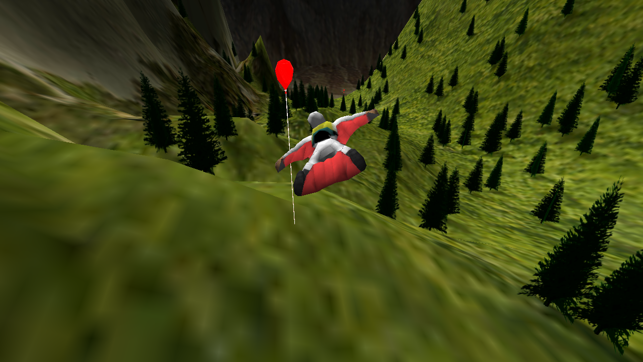 Wingsuit Lite - screenshot