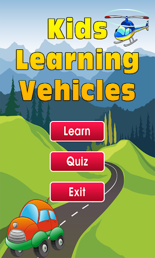 Kids Learning Vehicles