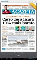 Screenshot of A Gazeta