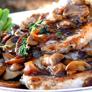 Pork Chops Marsala.