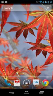Autumn Tree Live Wallpaper- screenshot thumbnail
