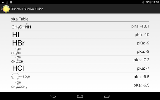 玩教育App|OChem II Survival Guide免費|APP試玩