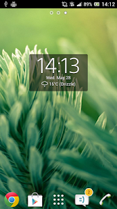Digital Clock Widget Xperia v3.9.5.122 (Premium)