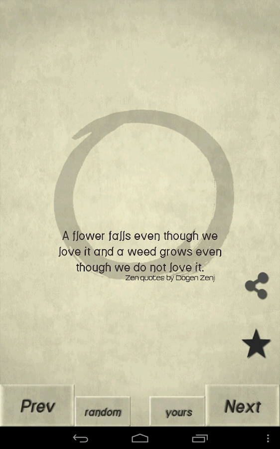 Zen Quotes - screenshot