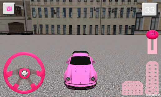 Girl Car Parking 3D screenshot