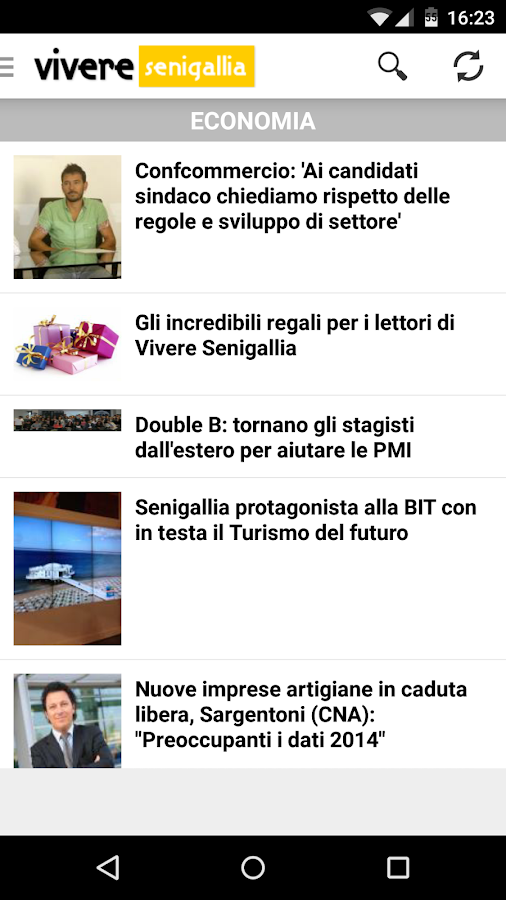 Vivere Senigallia- screenshot